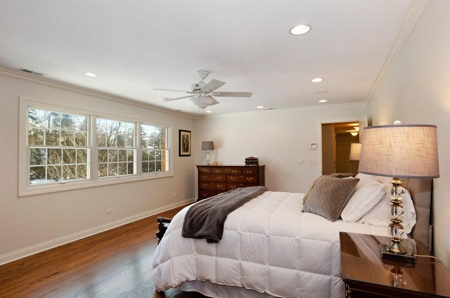 Real Estate Photography - 2800 Romona Court, Wilmette, IL, 60091 - Master Bedroom
