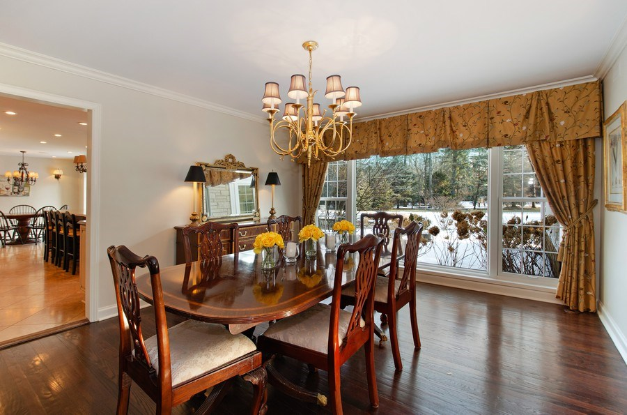 Real Estate Photography - 2800 Romona Court, Wilmette, IL, 60091 - Dining Room