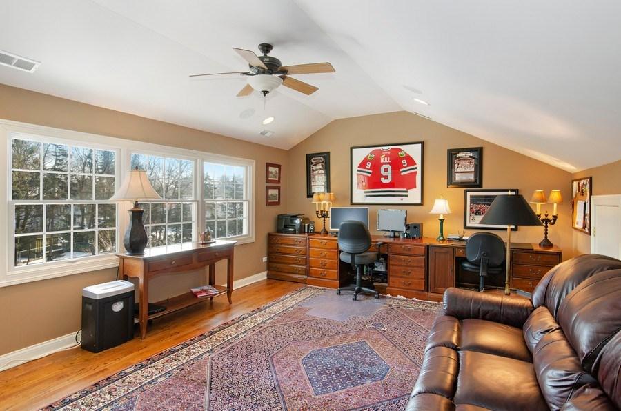 Real Estate Photography - 2800 Romona Court, Wilmette, IL, 60091 - Office (Third Floor)