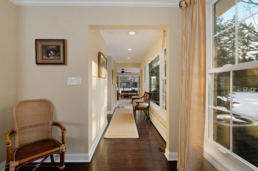 Real Estate Photography - 2800 Romona Court, Wilmette, IL, 60091 - Hallway