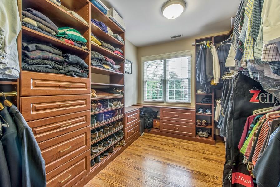 Real Estate Photography - 2800 Romona Court, Wilmette, IL, 60091 - Walk-In Master Closet 2