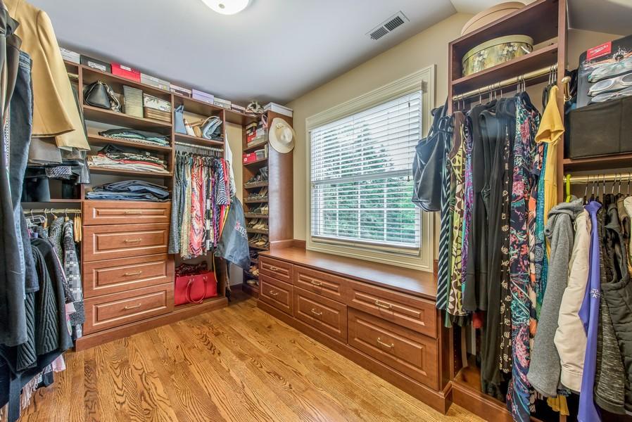 Real Estate Photography - 2800 Romona Court, Wilmette, IL, 60091 - Walk-In Master Closet 1