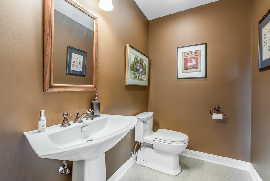 Real Estate Photography - 2800 Romona Court, Wilmette, IL, 60091 - Bath (Powder Room): Bedroom 5