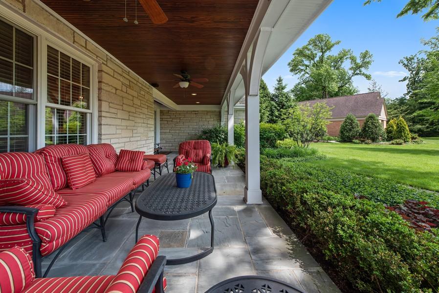 Real Estate Photography - 2800 Romona Court, Wilmette, IL, 60091 - Front Porch
