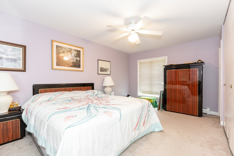 Real Estate Photography - 4250 Saratoga Ave., Unit 114, Downers Grove, IL, 60515 - Master Bedroom