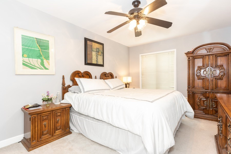 Real Estate Photography - 4250 Saratoga Ave., Unit 114, Downers Grove, IL, 60515 - Bedroom 2