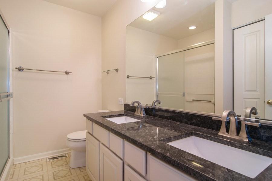 Real Estate Photography - 947 Mesa Dr, Elgin, IL, 60123 - Master Bathroom