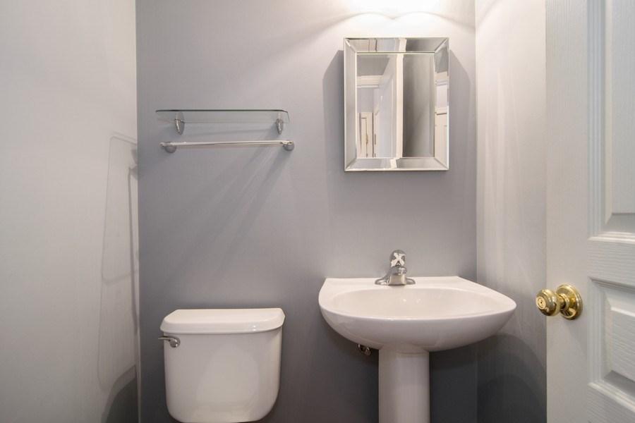 Real Estate Photography - 947 Mesa Dr, Elgin, IL, 60123 - Half Bath