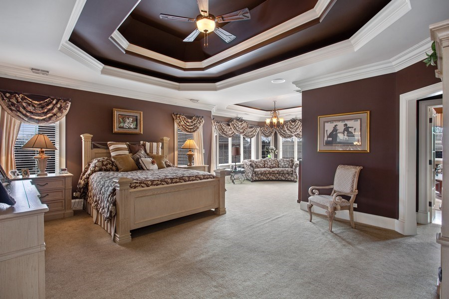 Real Estate Photography - 314 Felicia Ct, Bloomingdale, IL, 60108 - Master Bedroom
