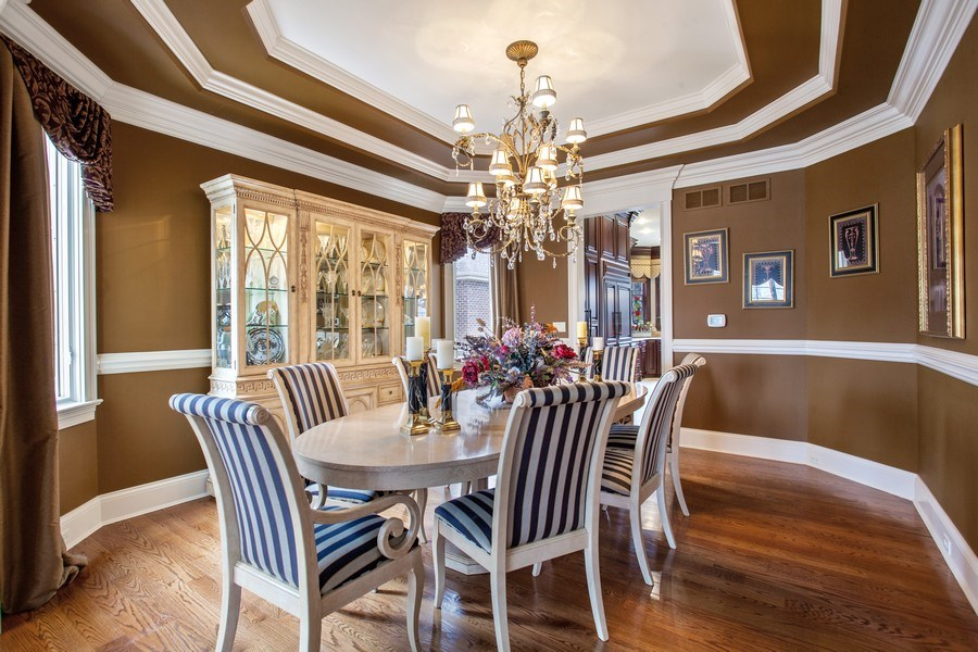 Real Estate Photography - 314 Felicia Ct, Bloomingdale, IL, 60108 - Dining Room