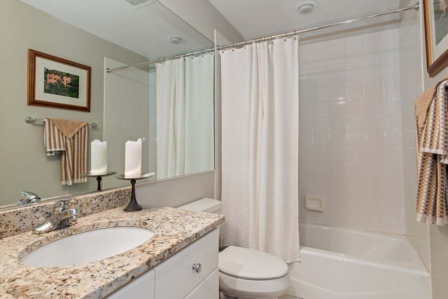 Real Estate Photography - 1862 N Wilmot Ave, Chicago, IL, 60647 - 3rd Bathroom