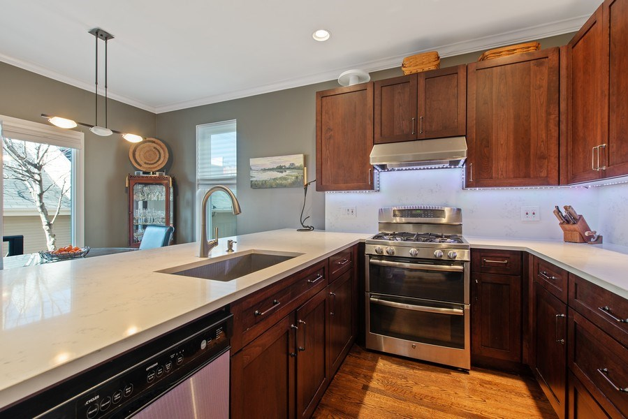 Real Estate Photography - 1862 N Wilmot Ave, Chicago, IL, 60647 - Kitchen