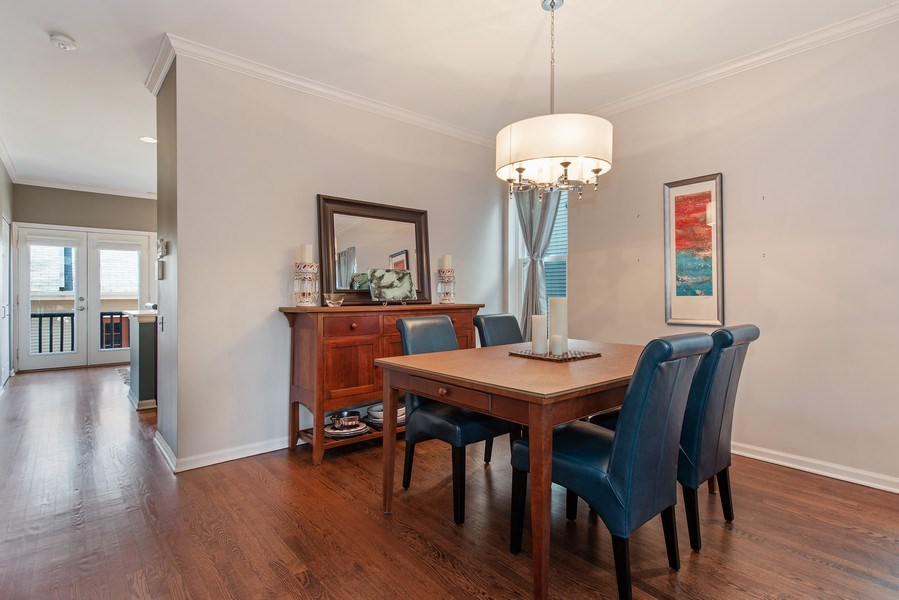 Real Estate Photography - 1862 N Wilmot Ave, Chicago, IL, 60647 - Dining Room