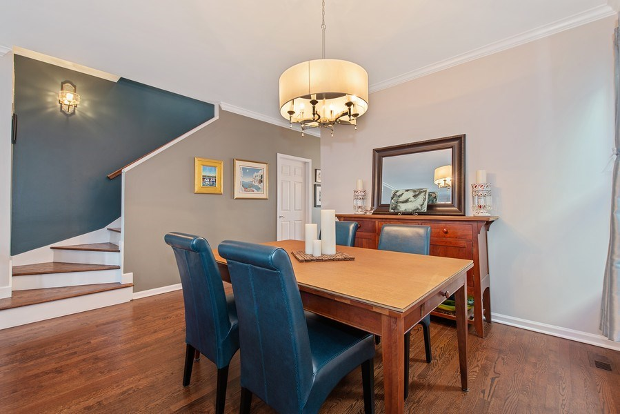 Real Estate Photography - 1862 N Wilmot Ave, Chicago, IL, 60647 - Dining Area