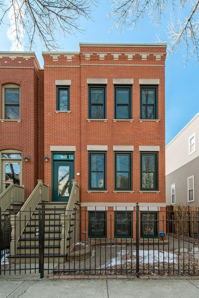 Real Estate Photography - 1862 N Wilmot Ave, Chicago, IL, 60647 - Front View