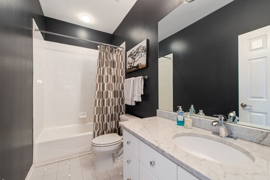 Real Estate Photography - 1862 N Wilmot Ave, Chicago, IL, 60647 - 2nd Bathroom