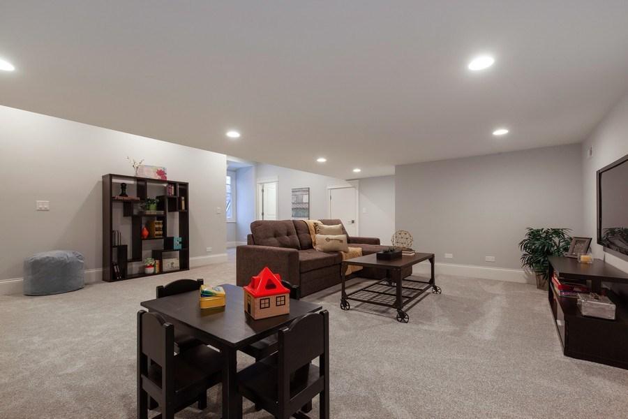 Real Estate Photography - 117 Church Rd, Winnetka, IL, 60093 - Bonus Room