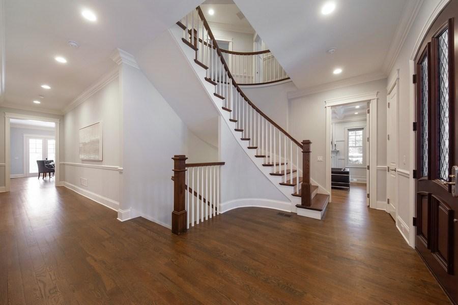 Real Estate Photography - 117 Church Rd, Winnetka, IL, 60093 - Foyer