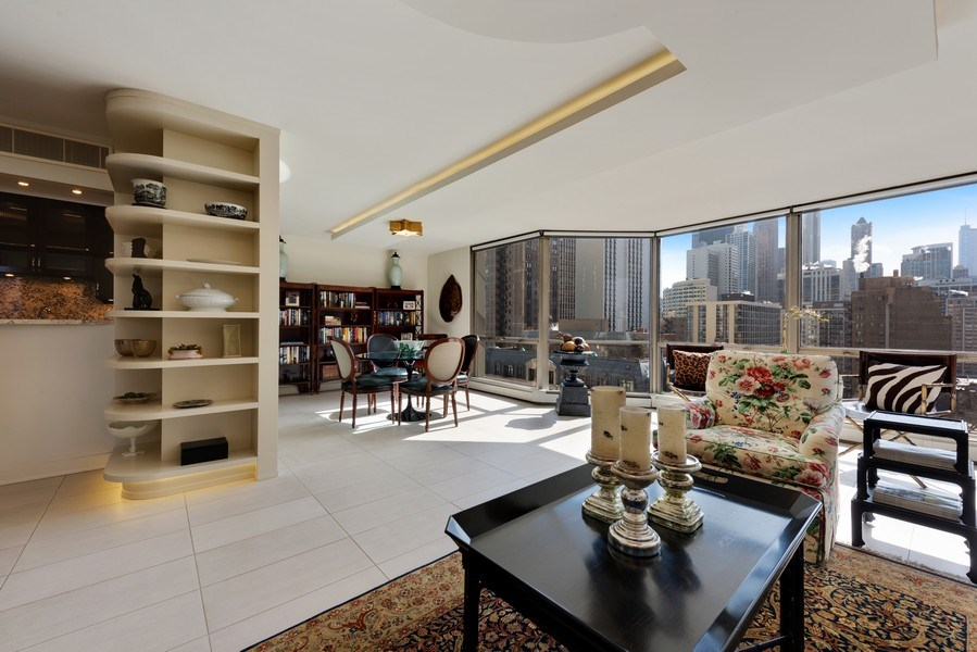 Real Estate Photography - 1310 N Ritchie Ct, 15B, Chicago, IL, 60610 - Living Room