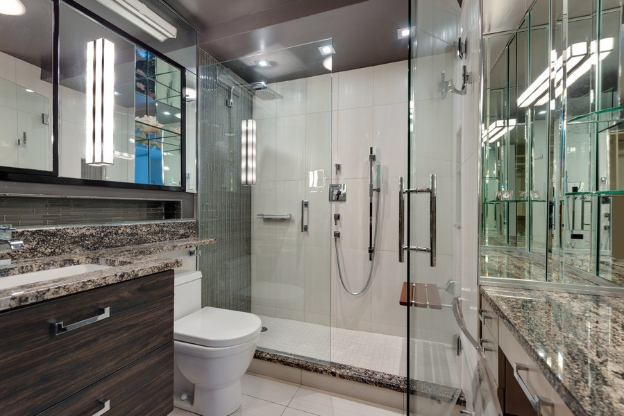 Real Estate Photography - 1310 N Ritchie Ct, 15B, Chicago, IL, 60610 - Master Bathroom