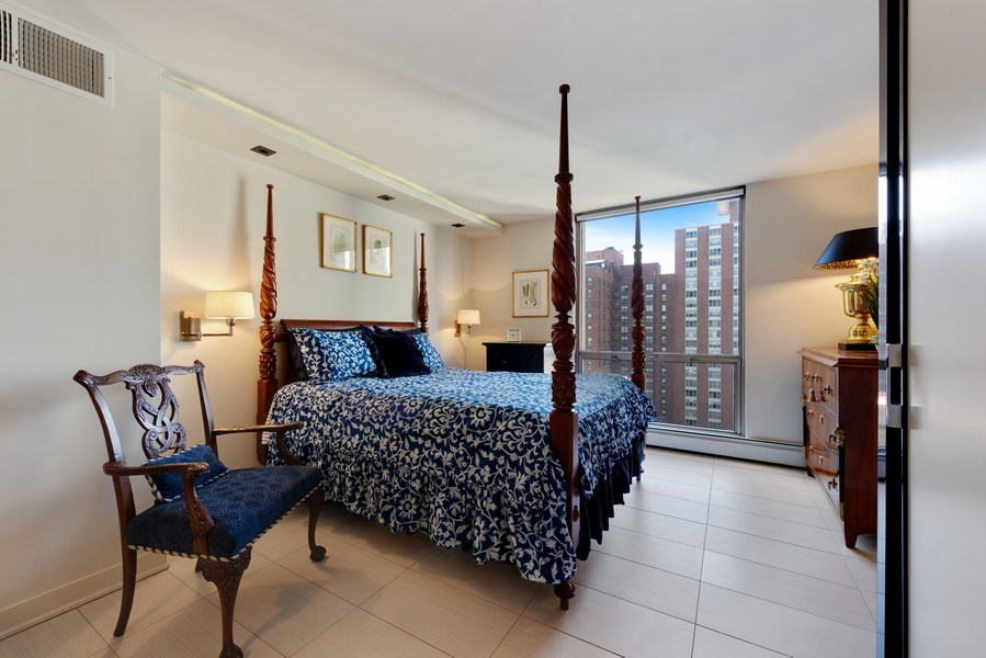 Real Estate Photography - 1310 N Ritchie Ct, 15B, Chicago, IL, 60610 - Master Bedroom