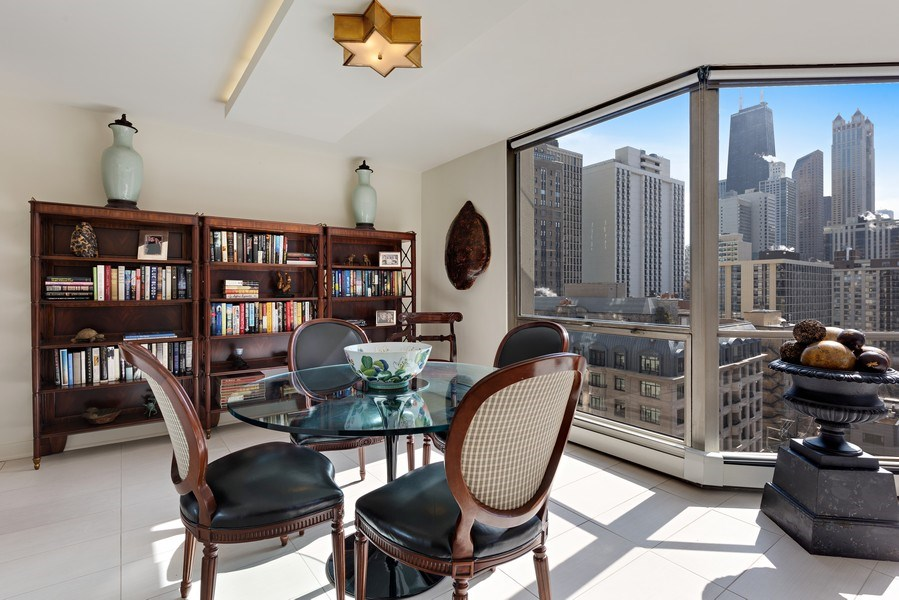 Real Estate Photography - 1310 N Ritchie Ct, 15B, Chicago, IL, 60610 - Dining Room