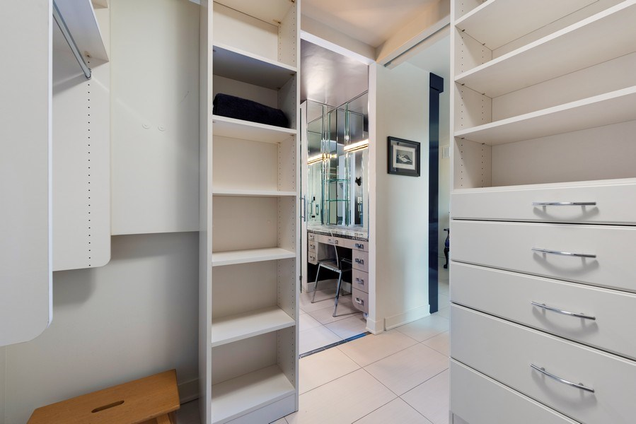 Real Estate Photography - 1310 N Ritchie Ct, 15B, Chicago, IL, 60610 - Master Bedroom Closet