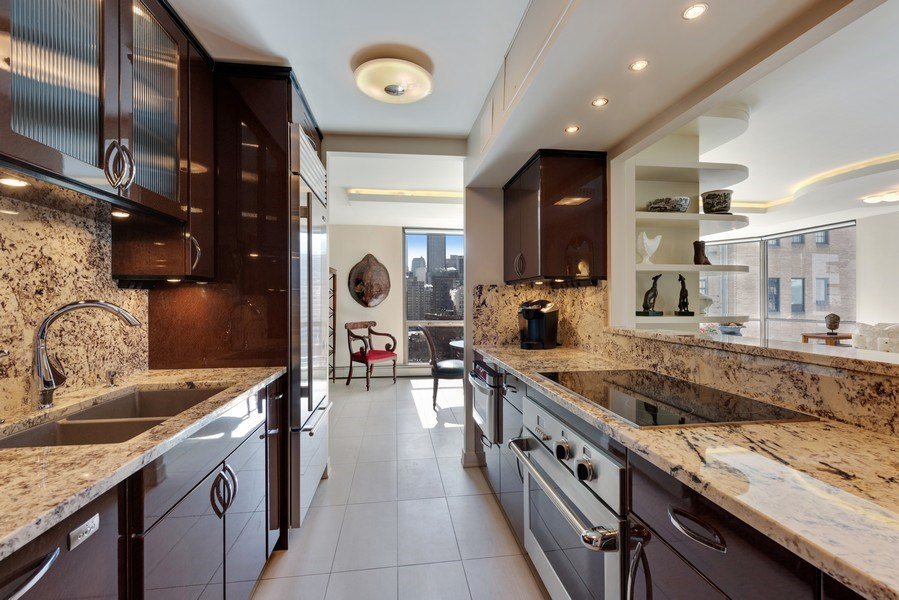 Real Estate Photography - 1310 N Ritchie Ct, 15B, Chicago, IL, 60610 - Kitchen