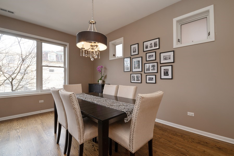 Real Estate Photography - 1025 W Buena Ave, Unit 2E, Chicago, IL, 60613 - Dining Room