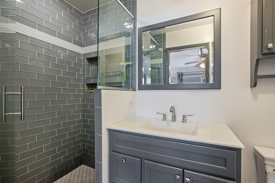 Real Estate Photography - 2132 Lake Ave., Wilmette, IL, 60091 - Master Bathroom