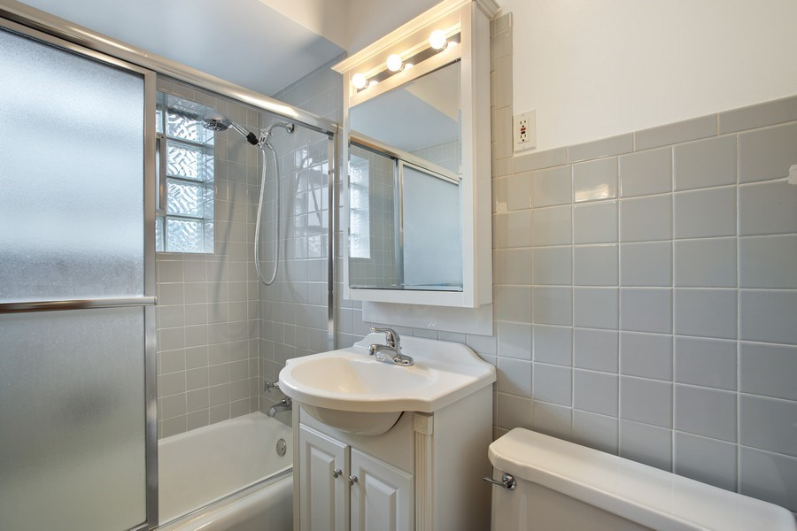 Real Estate Photography - 2132 Lake Ave., Wilmette, IL, 60091 - Bathroom