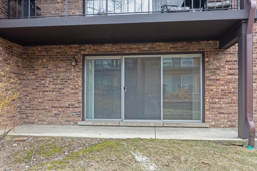 Real Estate Photography - 12 Algonquin Dr., Unit 2, Indian Head Park, IL, 60525 - Patio