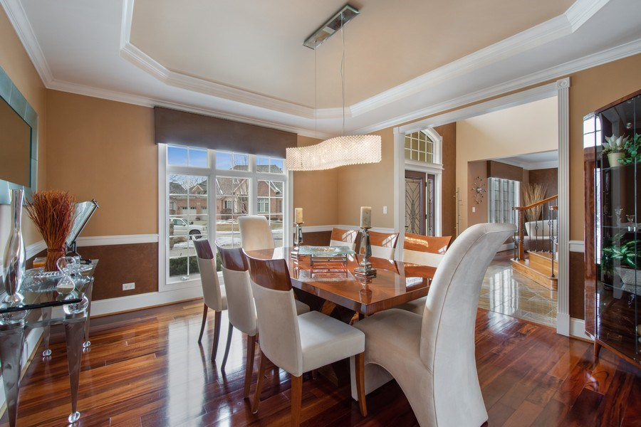 Real Estate Photography - 600 Sutherland Ct., Inverness, IL, 60010 - Dining Room