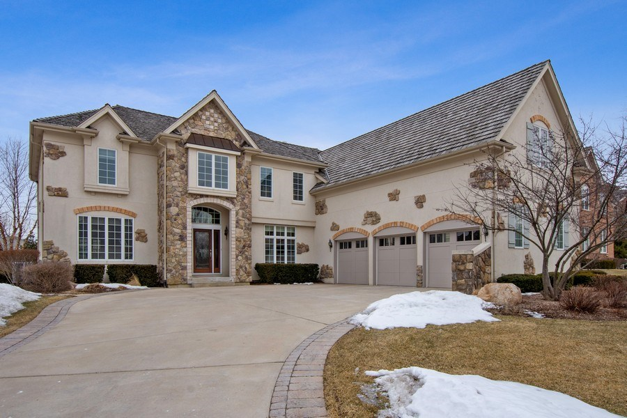 Real Estate Photography - 600 Sutherland Ct., Inverness, IL, 60010 - Front View