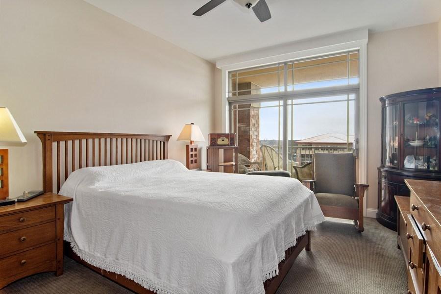 Real Estate Photography - 100 Prairie Park, Unit 612, Wheeling, IL, 60090 - Master Bedroom