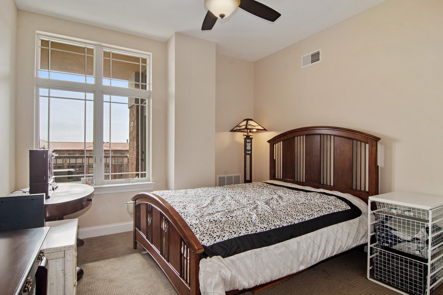 Real Estate Photography - 100 Prairie Park, Unit 612, Wheeling, IL, 60090 - 2nd Bedroom