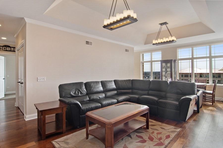 Real Estate Photography - 100 Prairie Park, Unit 612, Wheeling, IL, 60090 - Living Room