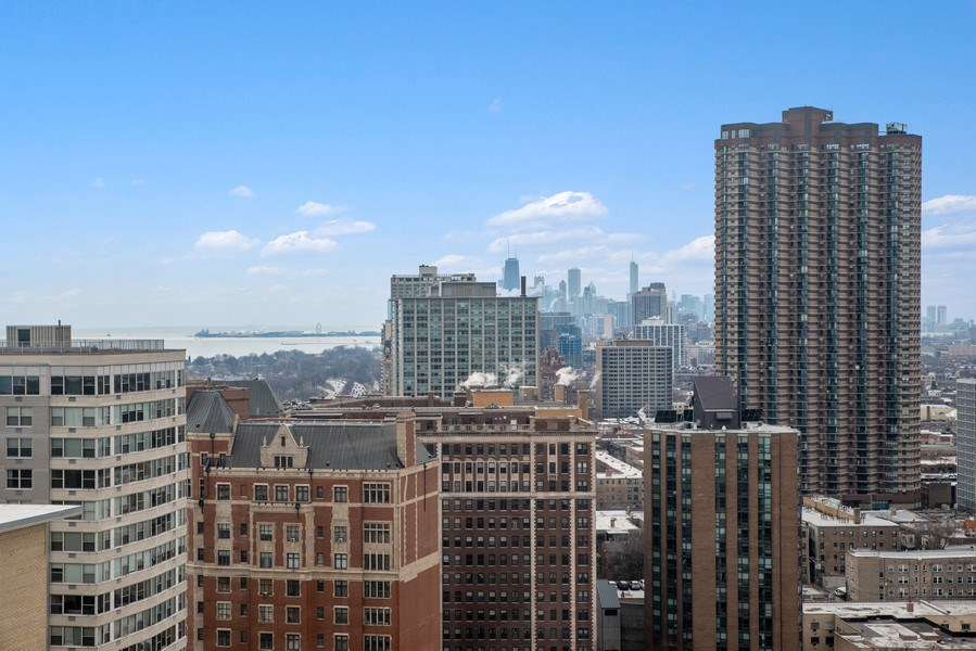 Real Estate Photography - 655 W Irving Park Rd, Unit 2601, Chicago, IL, 60613 - View