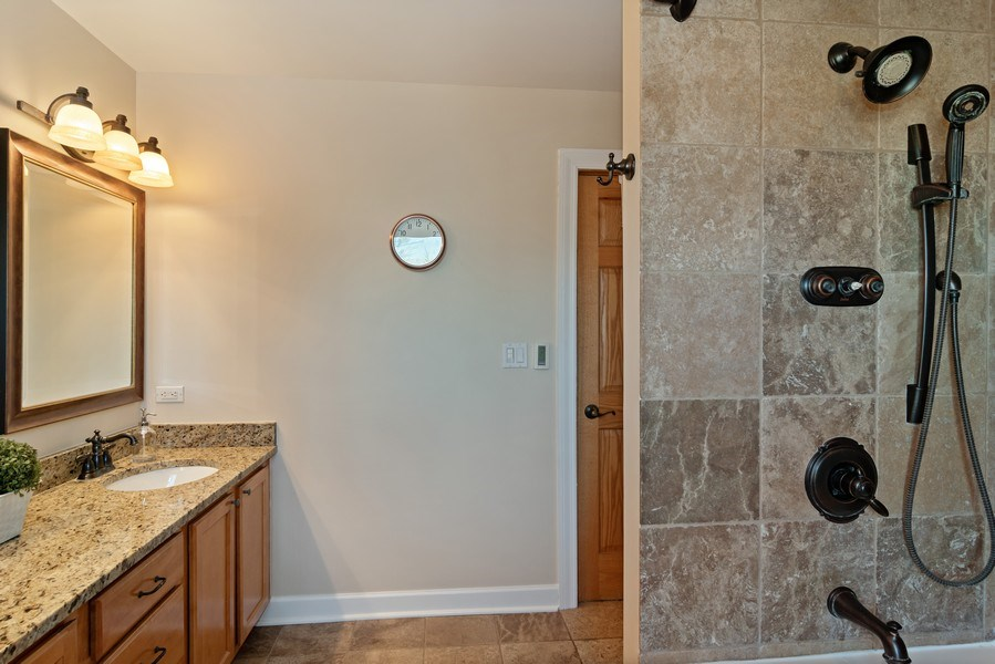 Real Estate Photography - 20 S Cowley Rd, Riverside, IL, 60546 - Master Bathroom