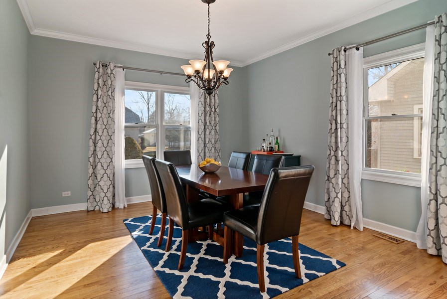 Real Estate Photography - 20 S Cowley Rd, Riverside, IL, 60546 - Dining Room