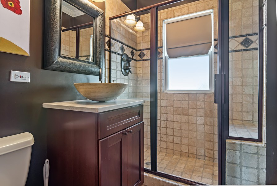Real Estate Photography - 20 S Cowley Rd, Riverside, IL, 60546 - Bathroom