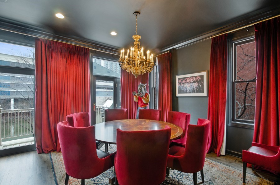Real Estate Photography - 457 N Canal St, Chicago, IL, 60654 - Dining Room