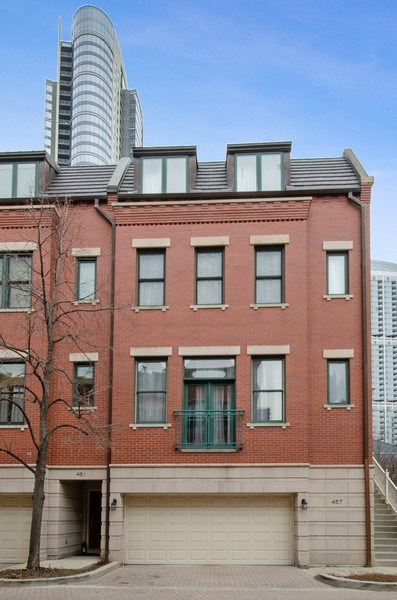 Real Estate Photography - 457 N Canal St, Chicago, IL, 60654 - Rear View