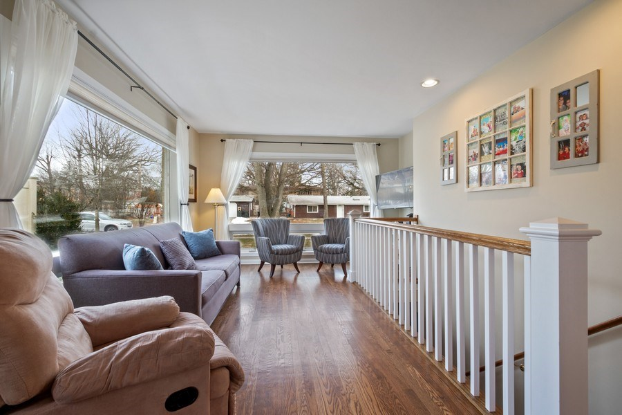 Real Estate Photography - 1616 Magnolia, Glenview, IL, 60025 - Living Room