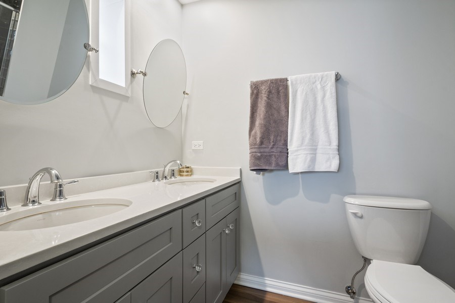 Real Estate Photography - 1616 Magnolia, Glenview, IL, 60025 - Master Bathroom