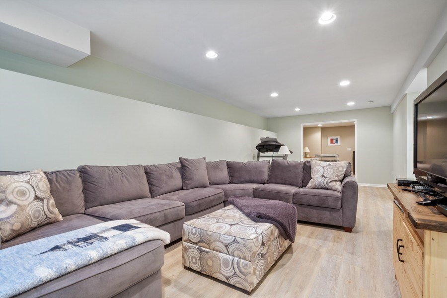 Real Estate Photography - 1616 Magnolia, Glenview, IL, 60025 - Lower Level