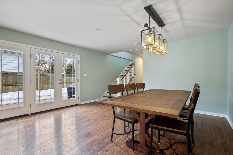 Real Estate Photography - 1616 Magnolia, Glenview, IL, 60025 - Dining Room