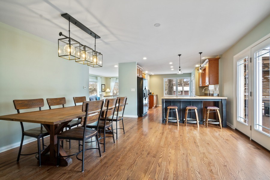 Real Estate Photography - 1616 Magnolia, Glenview, IL, 60025 - Dining Area