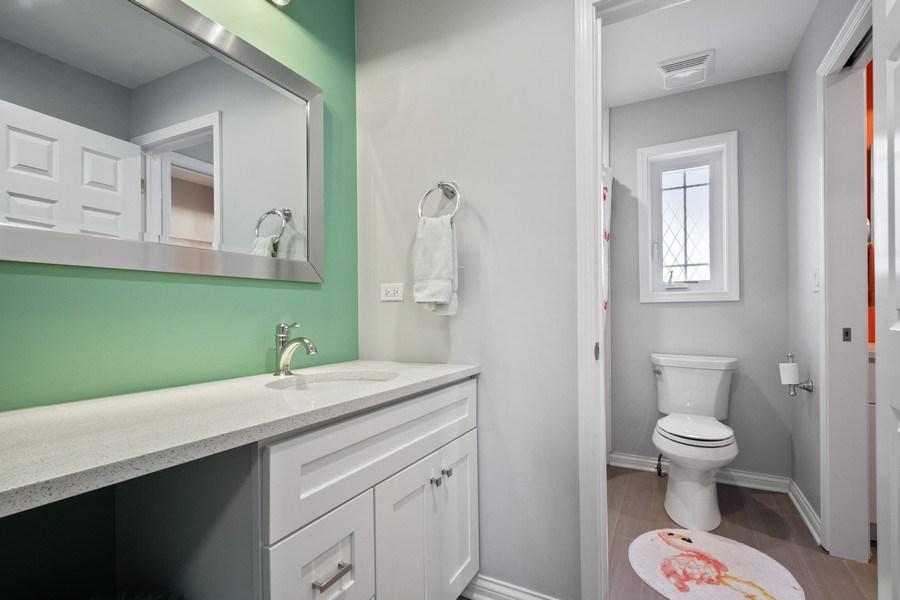 Real Estate Photography - 1616 Magnolia, Glenview, IL, 60025 - Bathroom