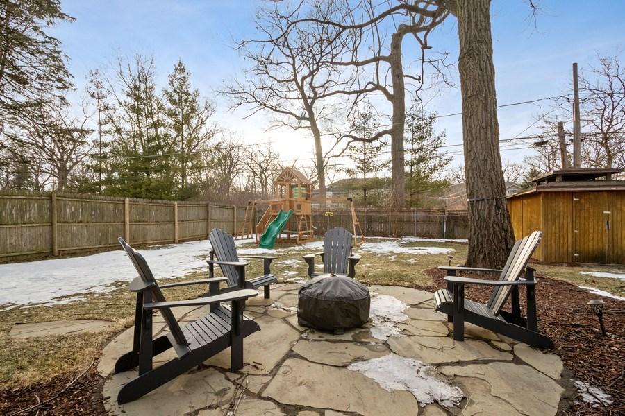 Real Estate Photography - 1616 Magnolia, Glenview, IL, 60025 - Patio